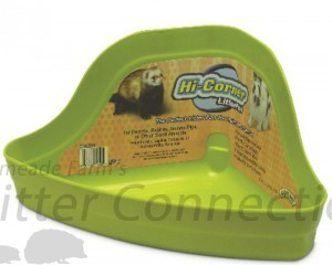 Figure 1 - Hi- Corner Litter Pan