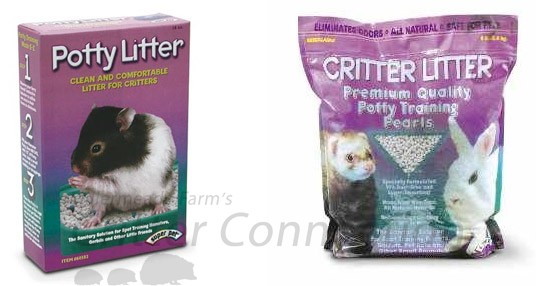 Figure 2 - Examples of Critter Litter