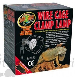 Figure 6 - Clamp Lamp Safety Cover