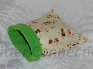 Figure 1 - Fleece Sleeping bags